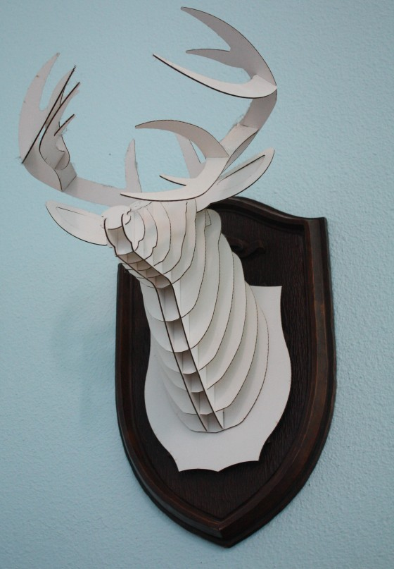 WATF Wednesday – Mounted Cardboard Deer Head