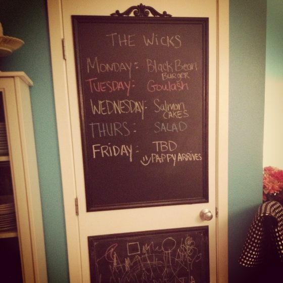 WATF Wednesday – Chalkboard Door