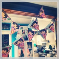 WATF Wednesday - Repurpose your Invites to Make a Banner