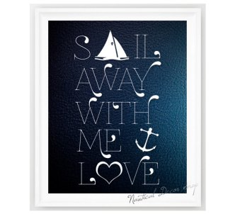 Nautical Print Etsy