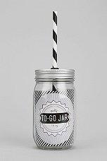 Mason Jar to Go Lid
