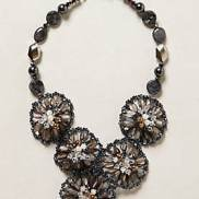 Gem Brocade Necklace Anthropologie