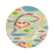 Threshold Ikat Plate