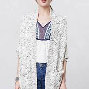 Flickered Cardigan Sweater Anthropologie
