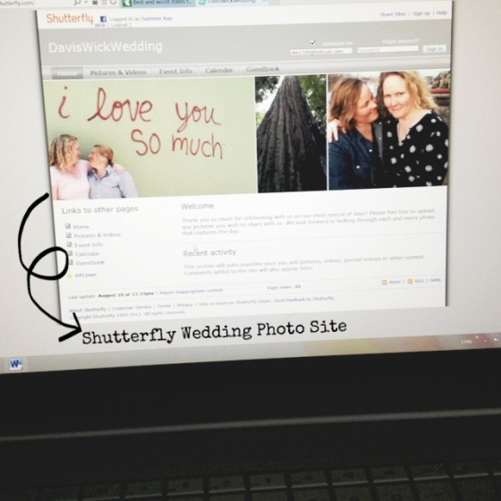 Shutterfly Photo Share Site