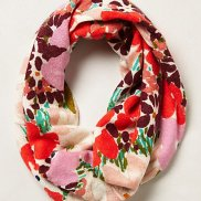 Winter's Wildflower Scarf Anthropologie