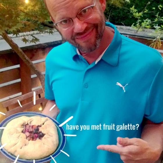 Have you met fruit galette?