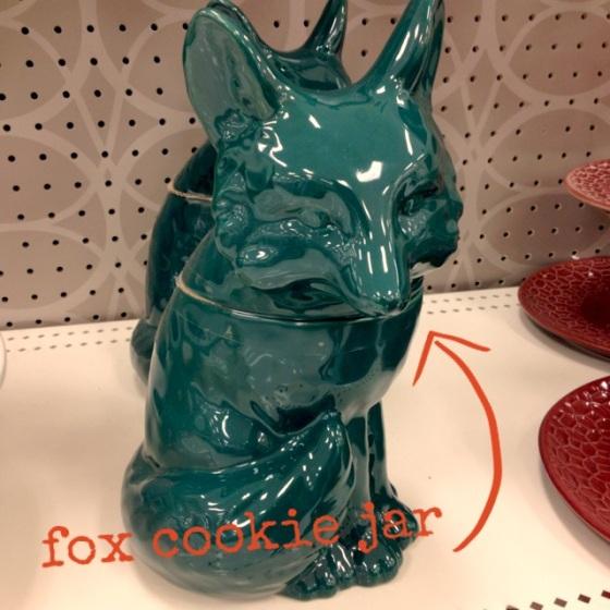 Fox Cookie Jar Target