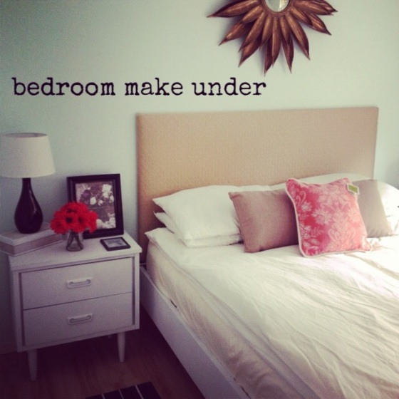 Bedroom Make Under