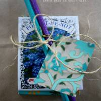 Craft a Forget me Not Gift - Amelia's last day of Daycare
