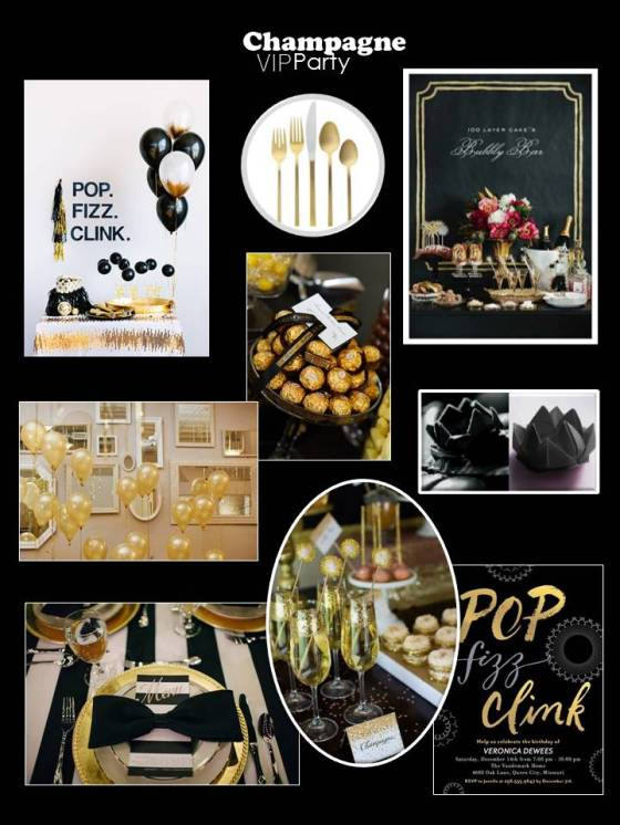 Black Lotus VIP Party Inspiration