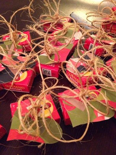 WATF Valentine Raisin Craft