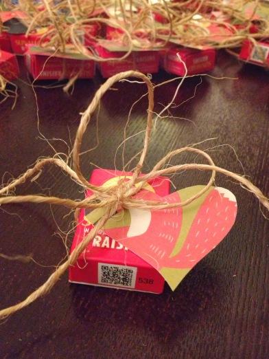 Raisin Valentine's Card