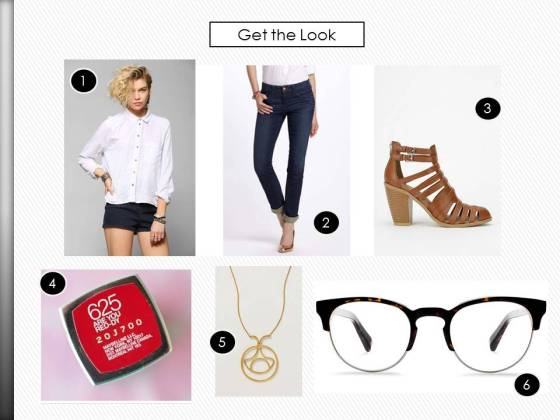 Warby Parker Spring Collection Wardrobe