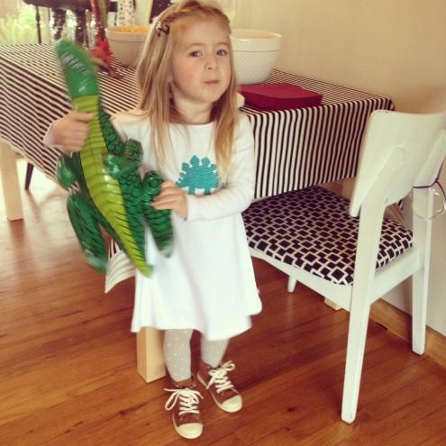 Amelia Dinosaur Birthday