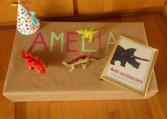 Amelia Dinosaur Birthday Party