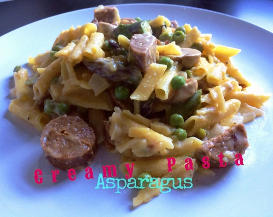 Whyallthefuss Creamy Asparagus Pasta