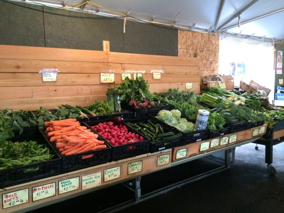 Krugers Farm Stand Lombard Street