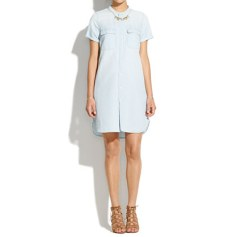 Madewell Chambray Shirt Dress