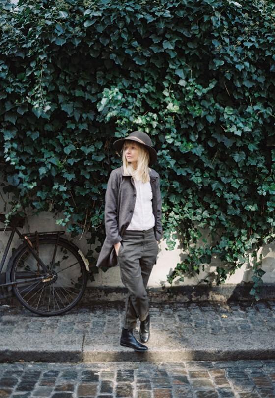 Ouur Linen Everyday Shirt and Peter Pan Collar Coat