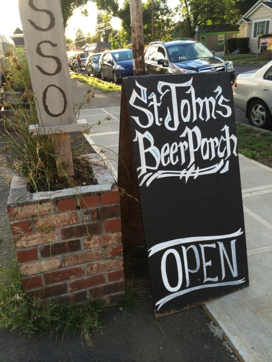 St Johns Beer Porch