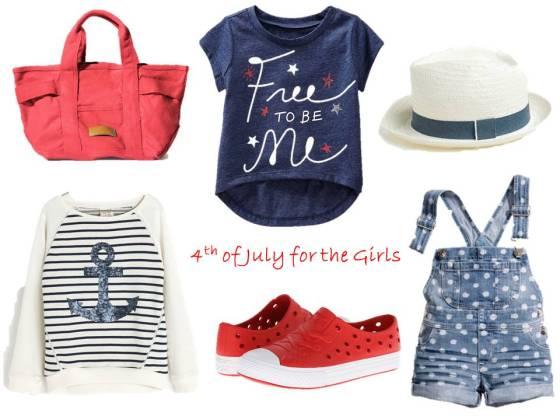 4th of July Girls Fashion Inspiration