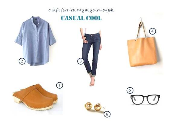 Casual Cool Inspiration Board