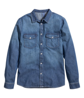 H&M Denim Men's Shirt