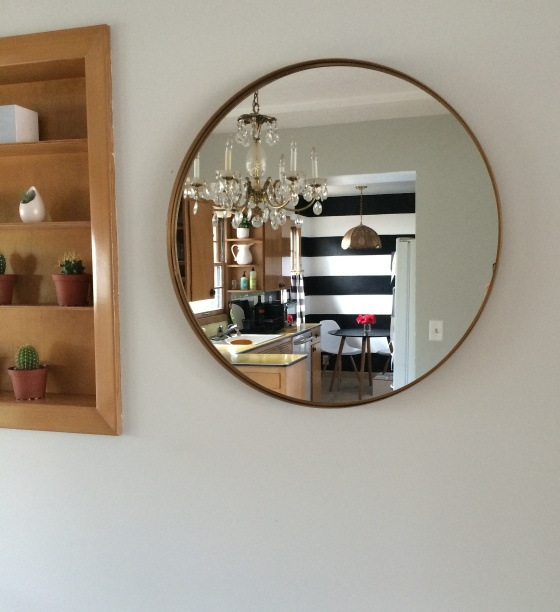 Why all the Fuss IKEA Mirror Makeover