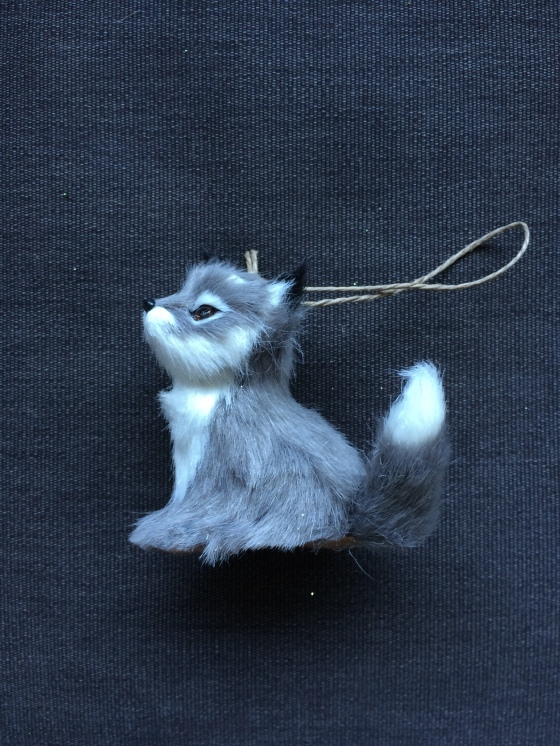 Winter Fox Ornament