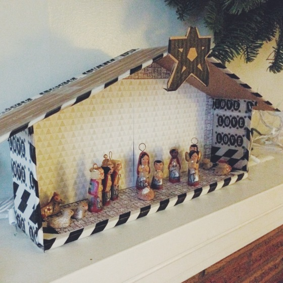 DIY Nativity Scene