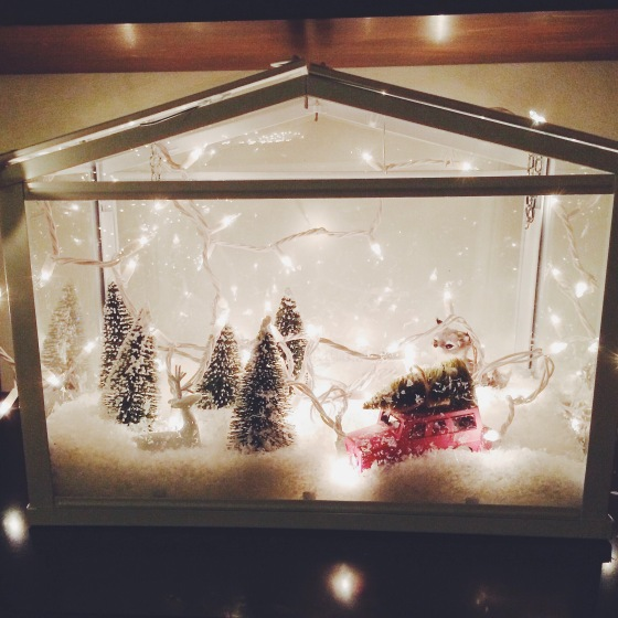 DIY Ikea Winter Scene