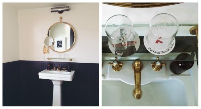 the Dean Bathroom Collage