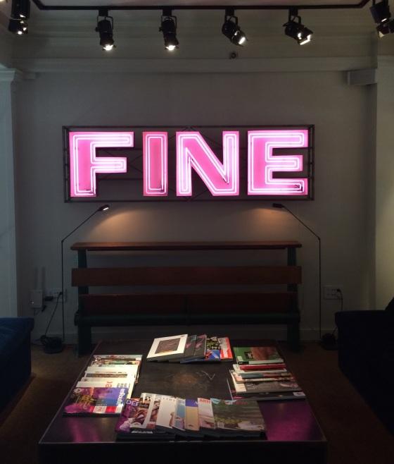Dean Hotel Fine Sign